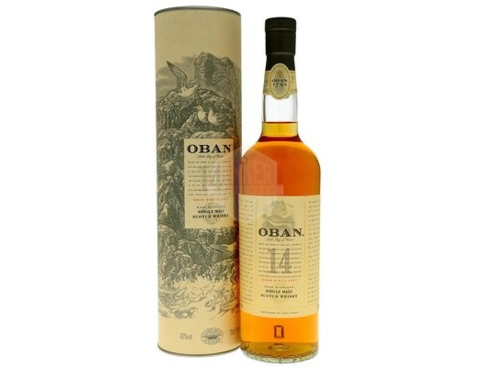 Oban Oban / 14 years / whisky / 0,7L