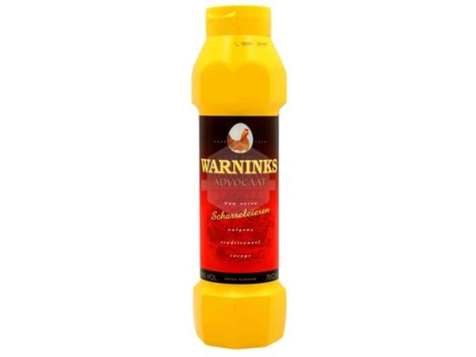 Warninks Warninks advocaat / knijpfles / 0,7L