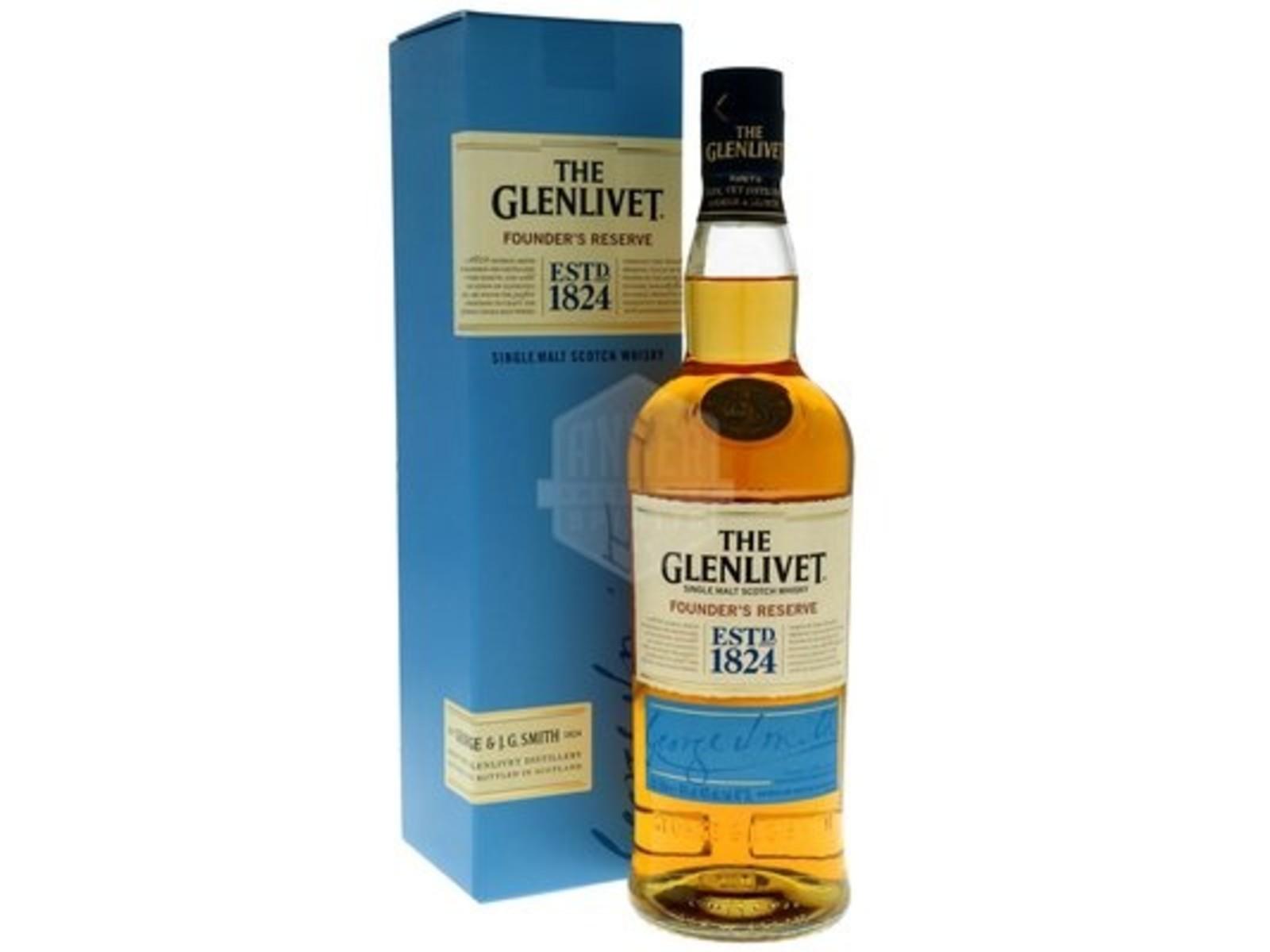 The Glenlivet The Glenlivet / Founder's Reserve / Whiskey / 0,7