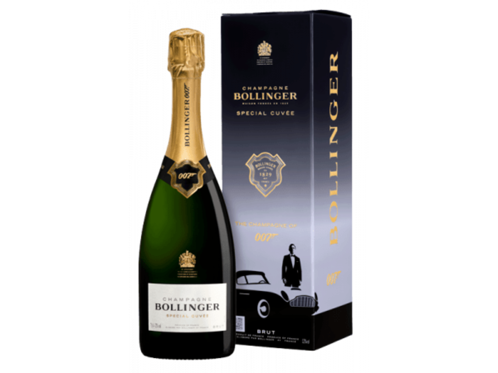 Champagne Bollinger Bollinger Special Cuvée 007 Limited Edition (in luxe geschenkdoos)
