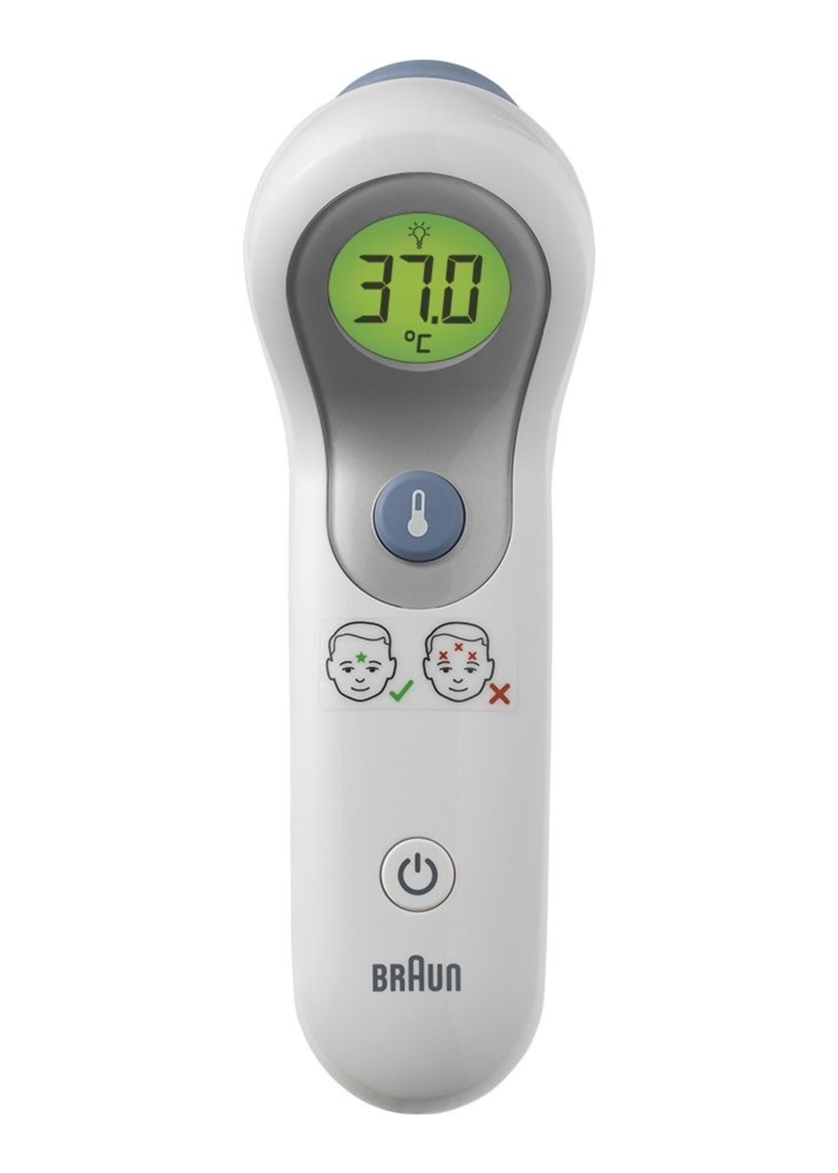 Braun Braun Contactloos + contact voorhoofdthermometer