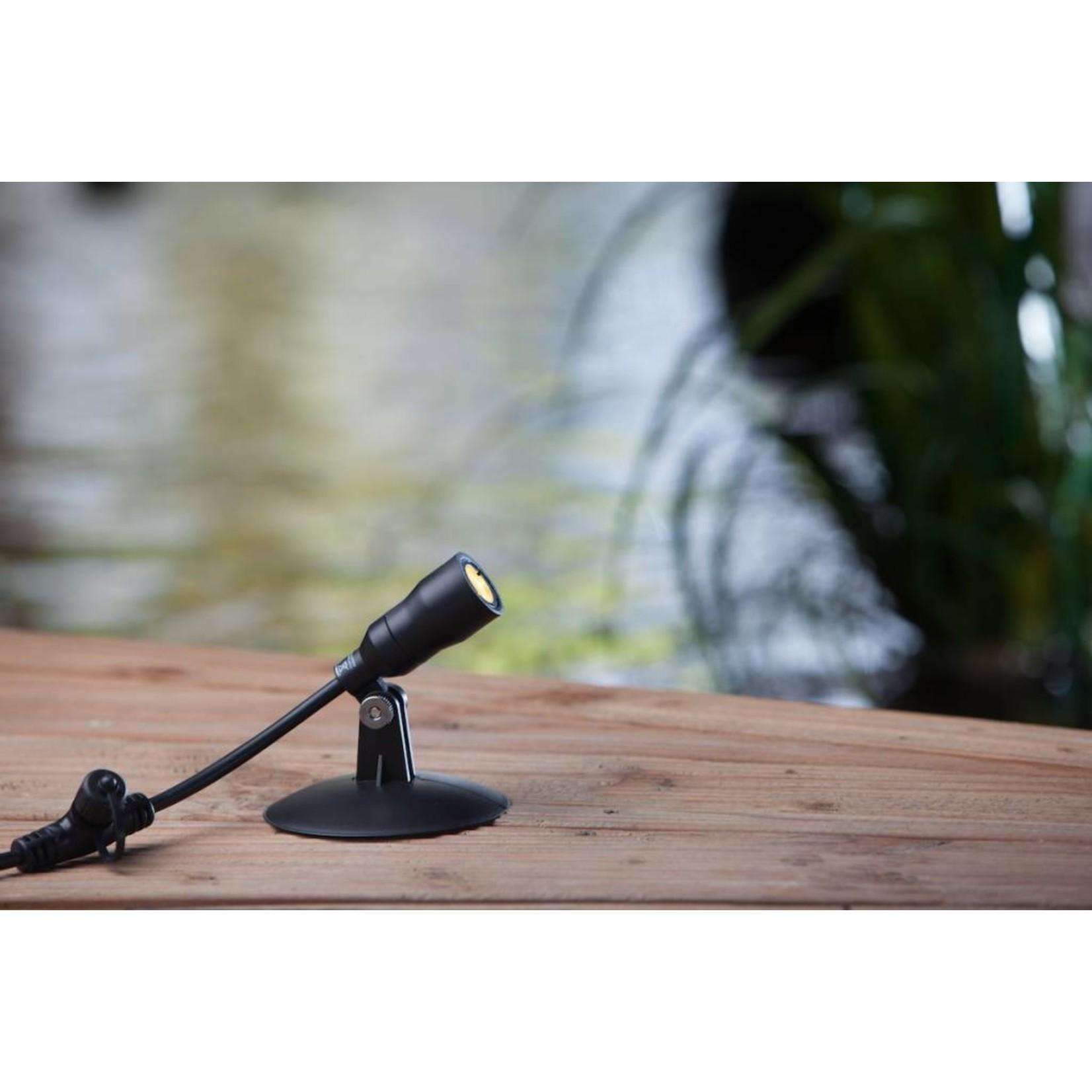 Heissner Smart Light spot 1W warm wit kunststof