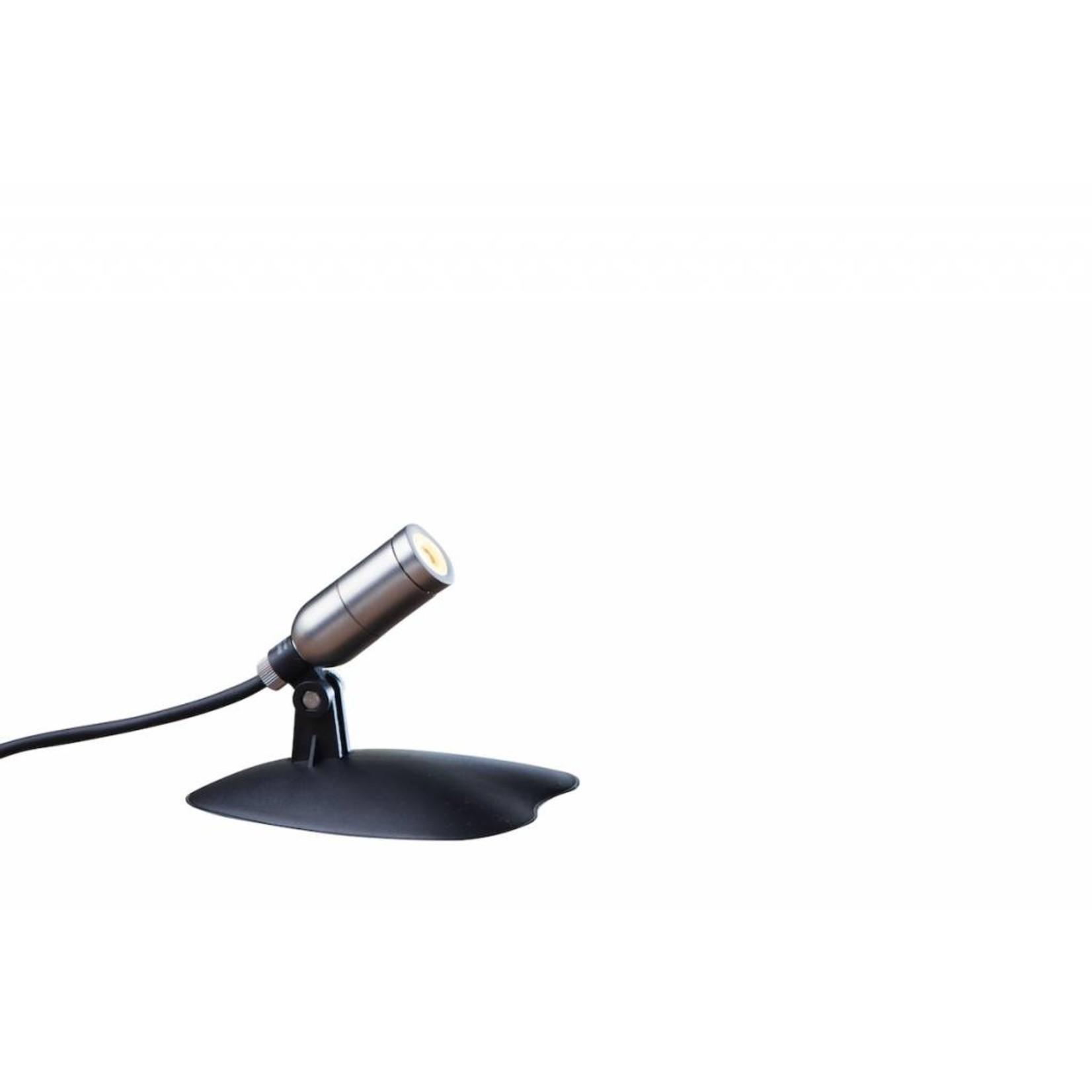 Heissner Smart Light spot 1W warm wit metaal