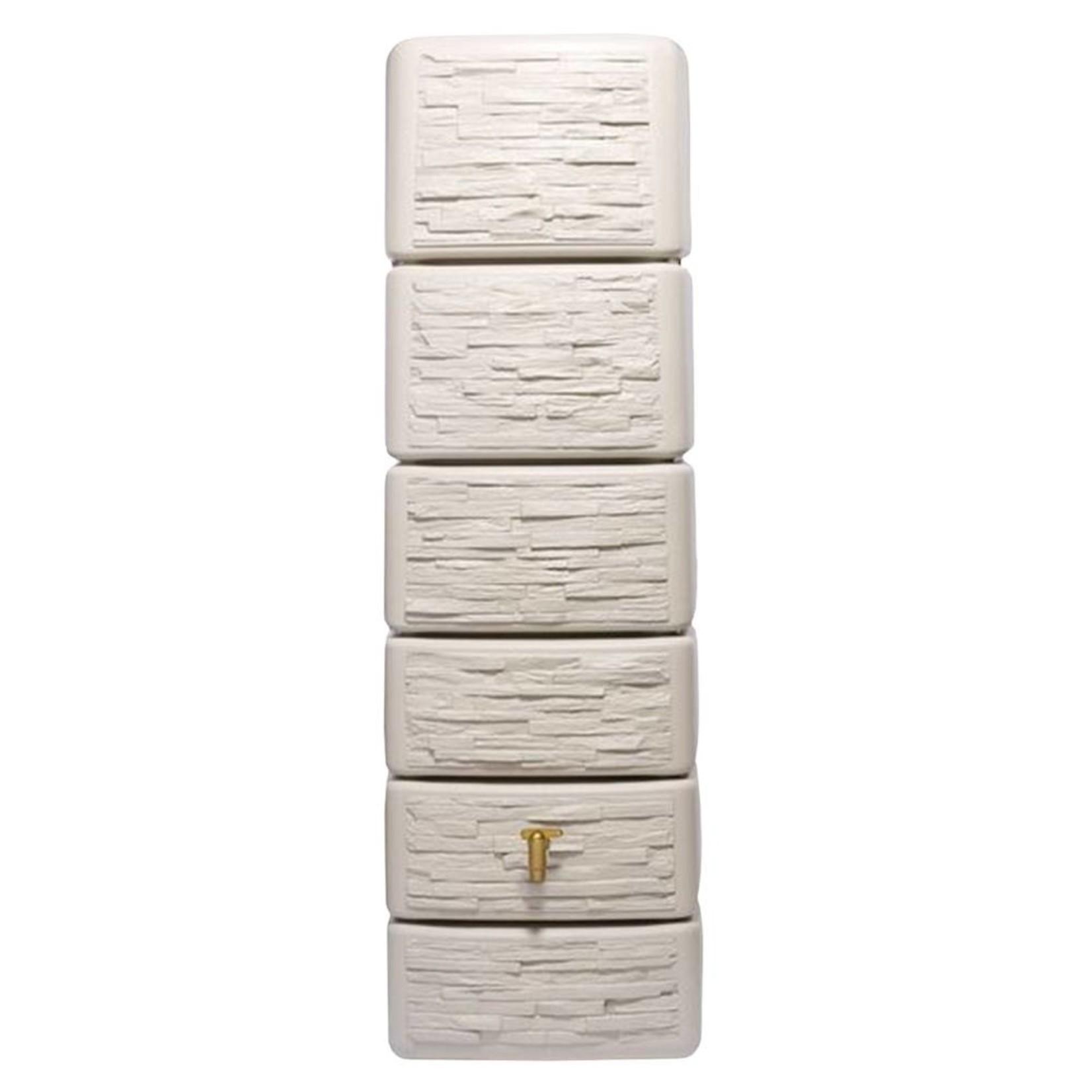 Garantia SLIM wandtank 300 l. stone decor beige l.58 x b.37 x h.182