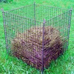 Meuwissen Agro Compostkorf groen 78 x 78 x 80 cm