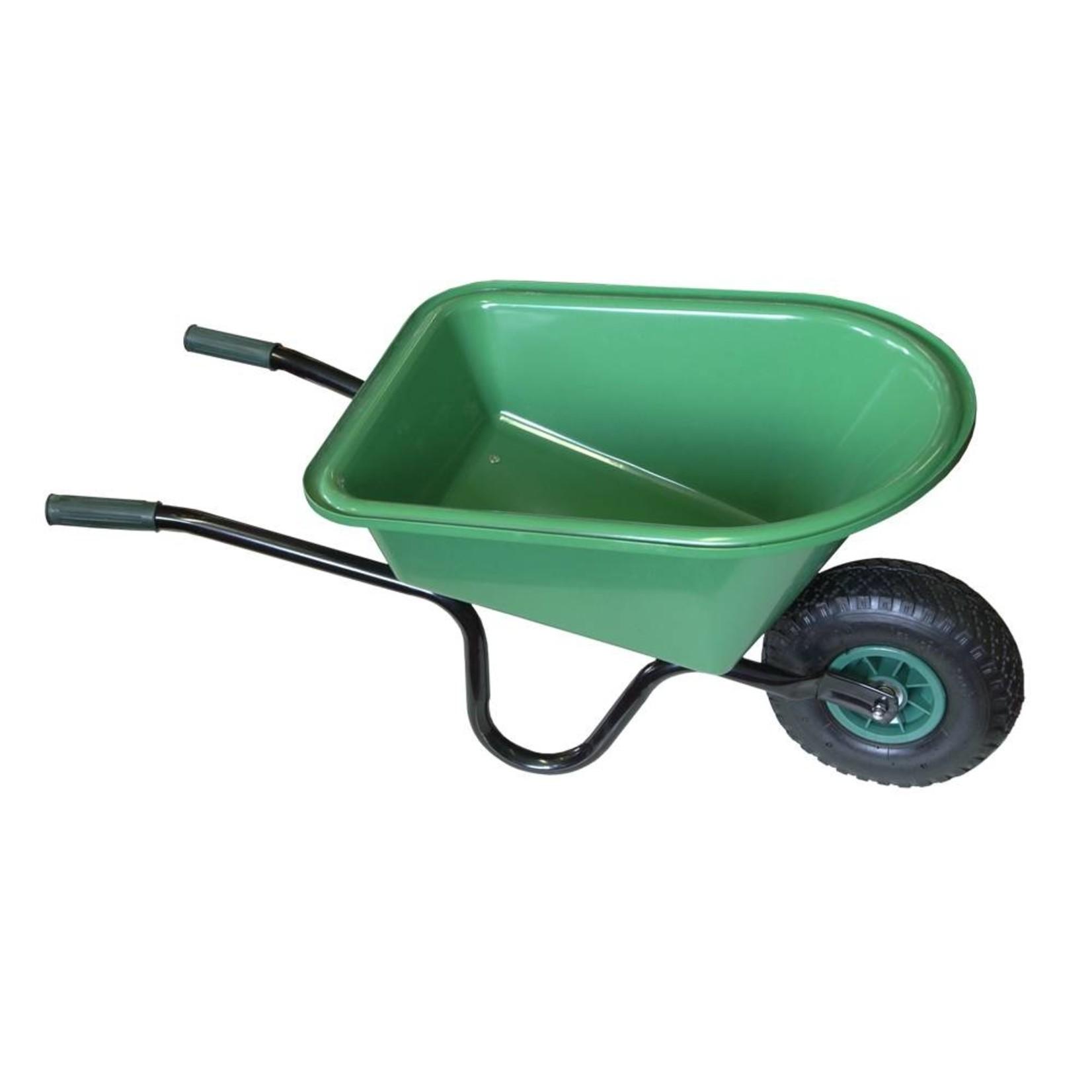 Meuwissen Agro Kinderkruiwagen Groen - bak 60 x 44 x 25/15 cm