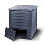 Meuwissen Agro Compost Thermo-Wood 600 br-zw + bel.plaat  80 x 80 x 95 cm