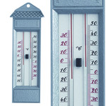 TFA Dostmann Thermometer max-min kwikvrij metaal zilver