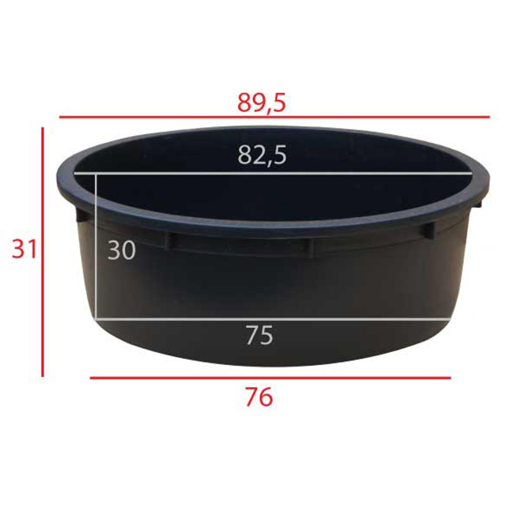 Meuwissen Agro Kuip   150 liter   ø 88 x h.32 cm