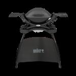 Weber Weber® Q 1400 elektrische barbecue met stand Dark grey