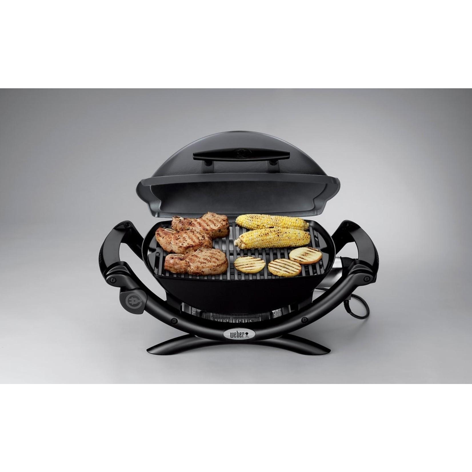 Weber Weber® Q 1400 elektrische barbecue met stand  Dark grey. Grilloppervlakte 42x32cm