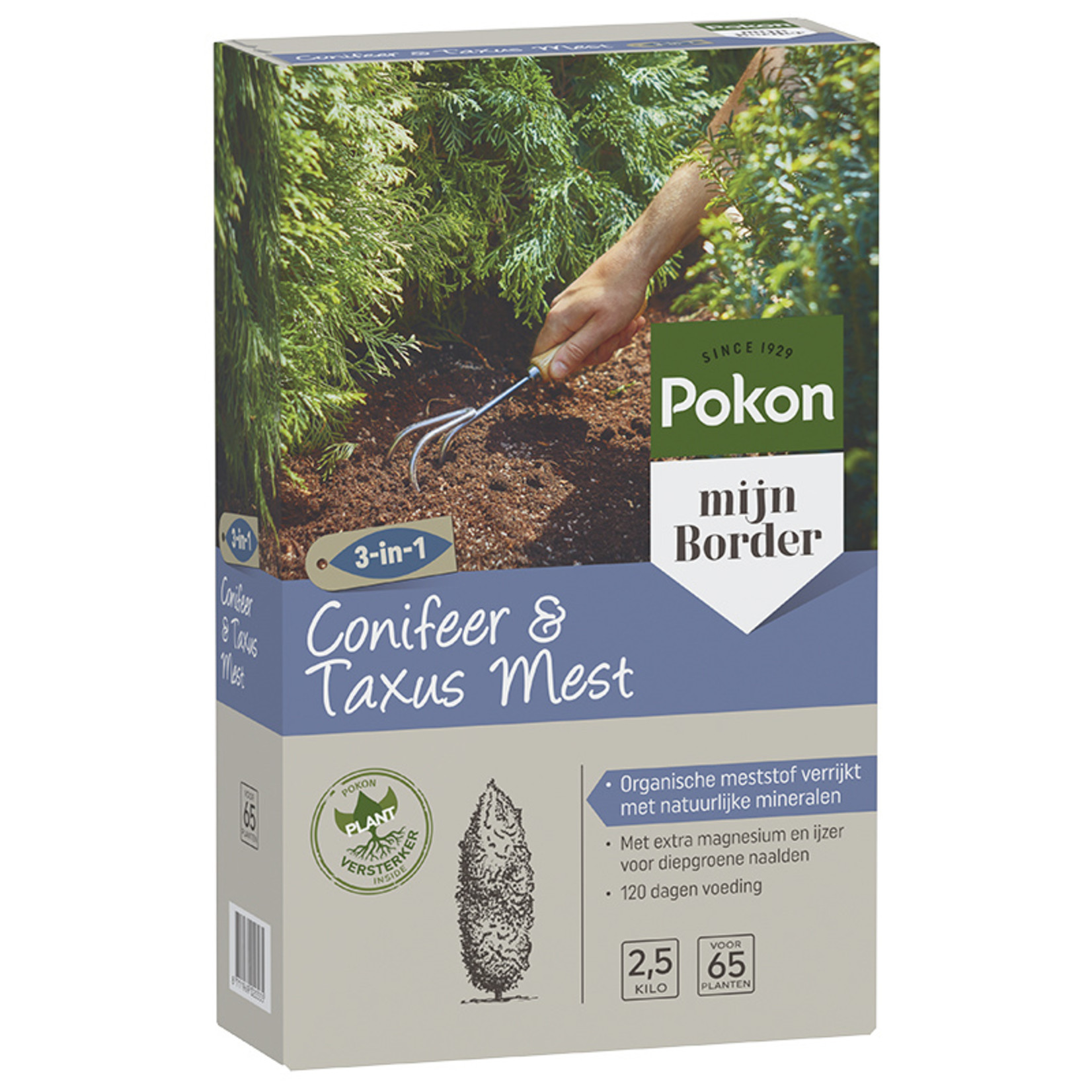 Pokon Conifeer/taxusmest 2,5kg