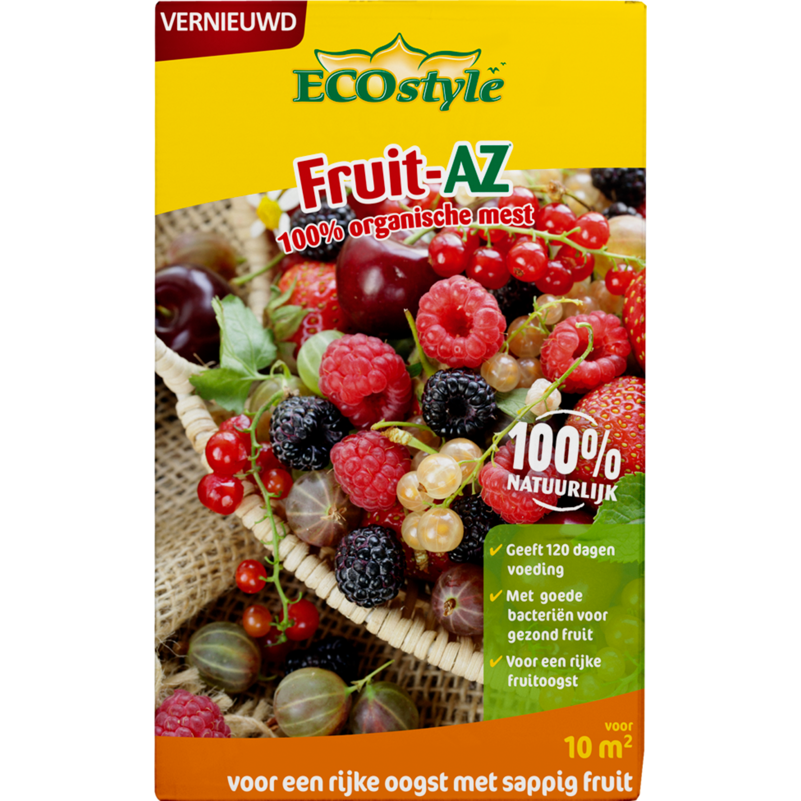 Ecostyle Fruit-az 800g