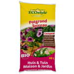 Ecostyle Potgrond huis & tuin 40 ltr