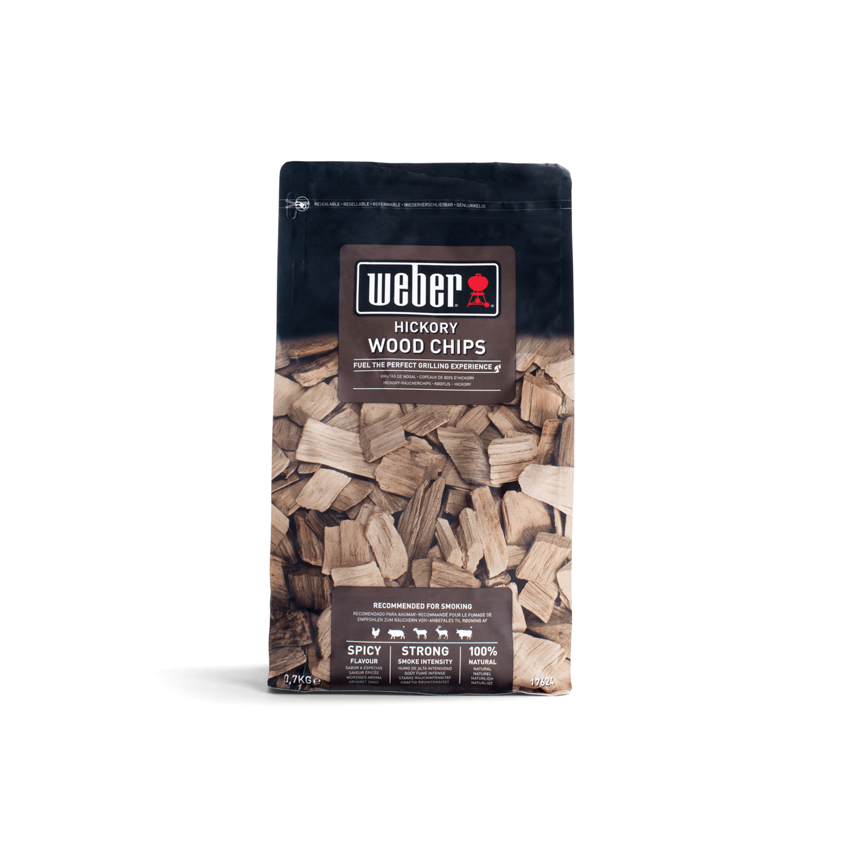 Weber Weber® houtsnippers 0,7 kg, hickory