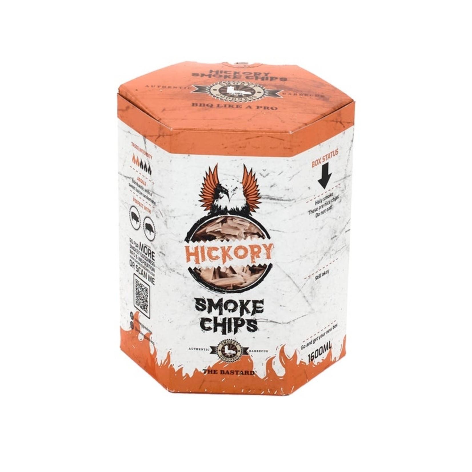 Smokey Goodness Smokey goodness Chips hickory