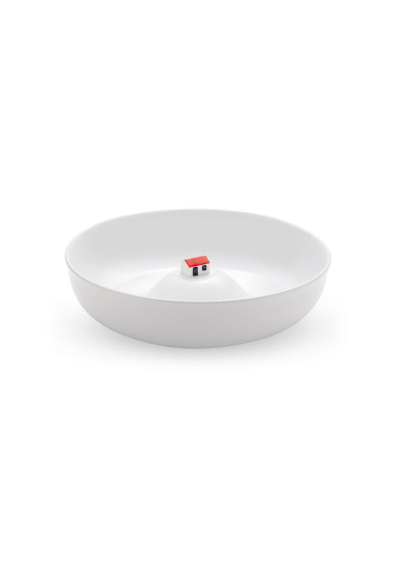 Bowl with house white from MoMA