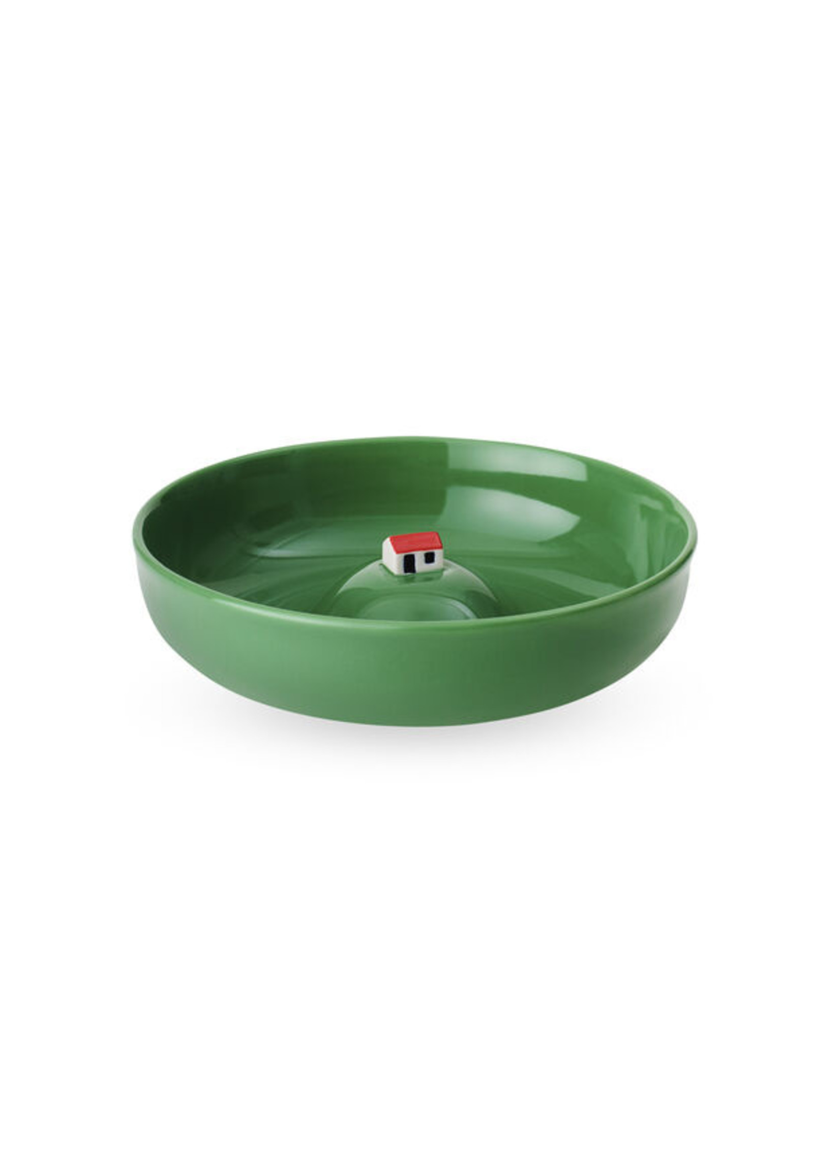 Bowl with house green from MoMA