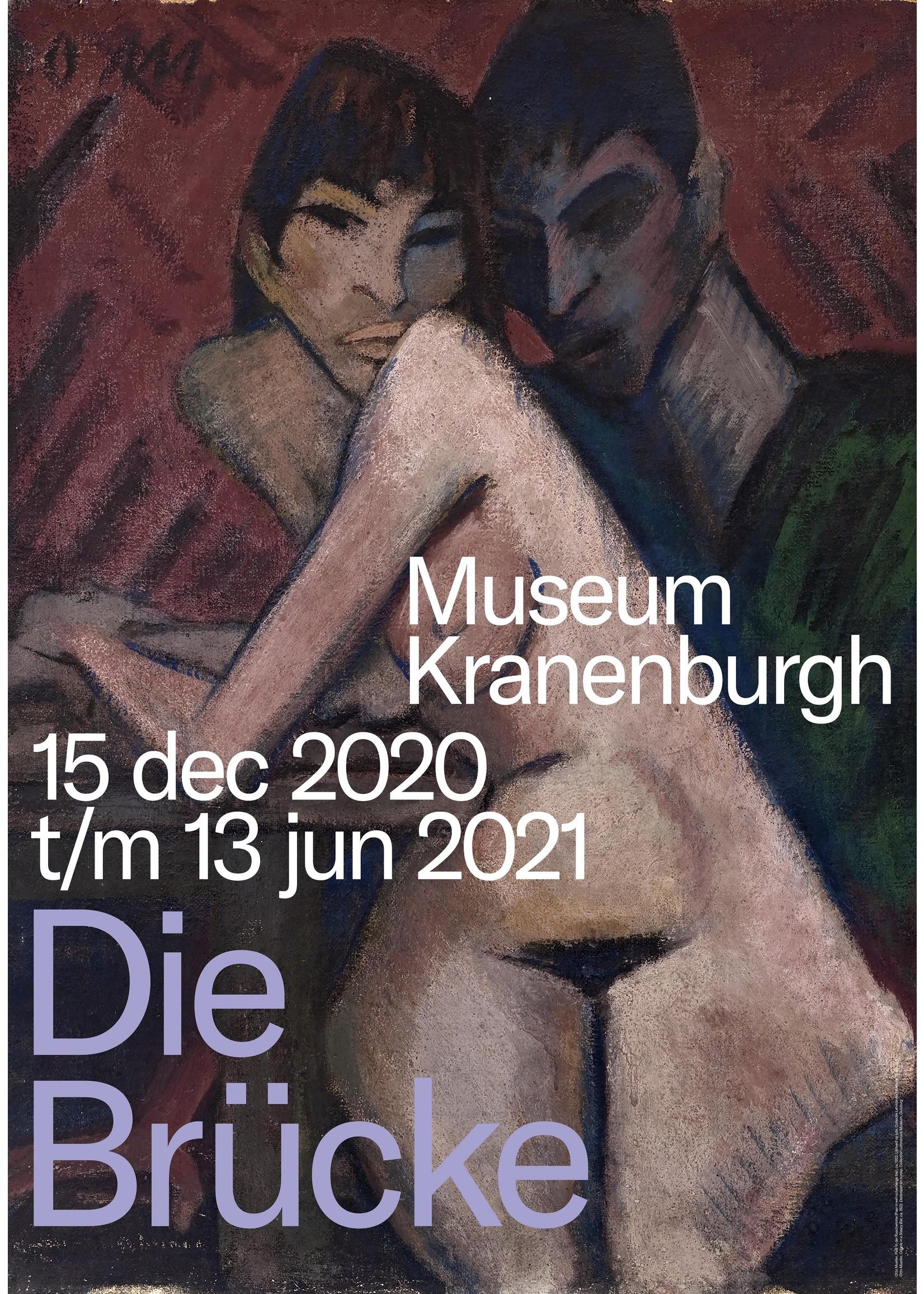Affiche  Kranenburgh 'Die Brücke'