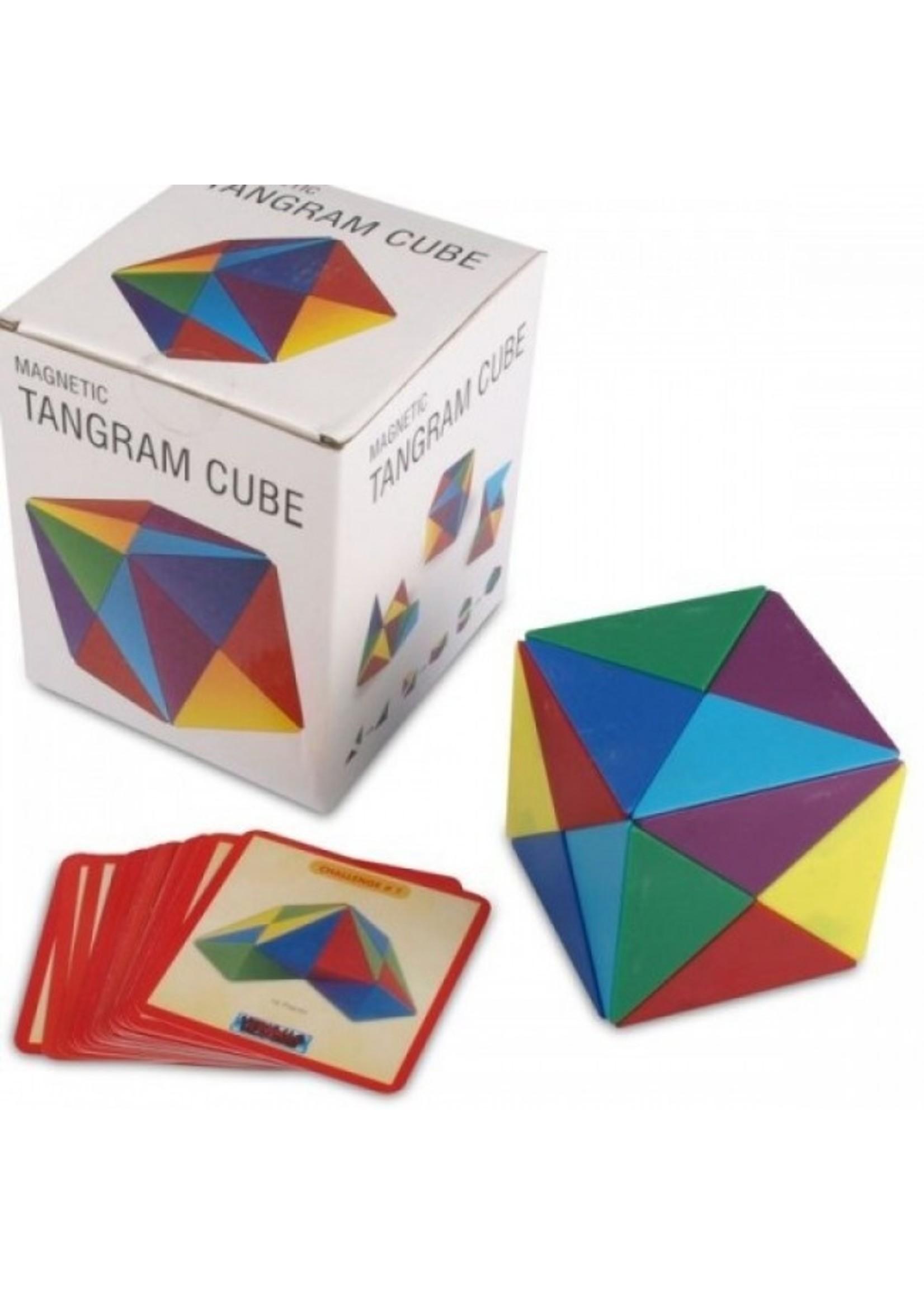 Magnetic Tangram Cube