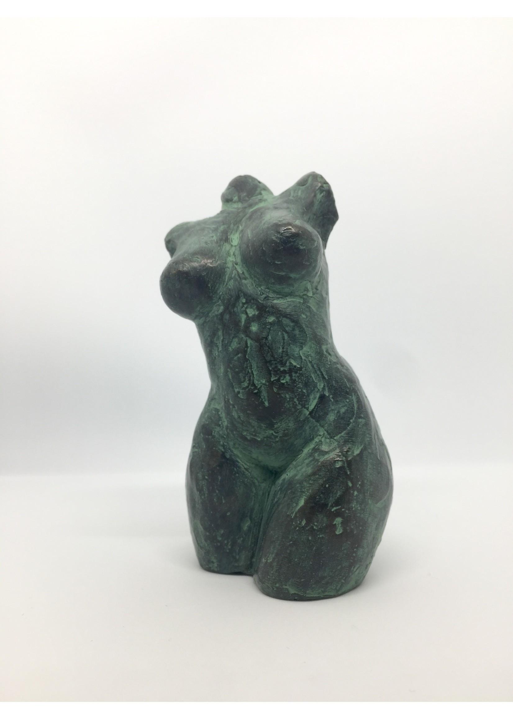 'Torso' - Jeronimus van der Leeden (brons)
