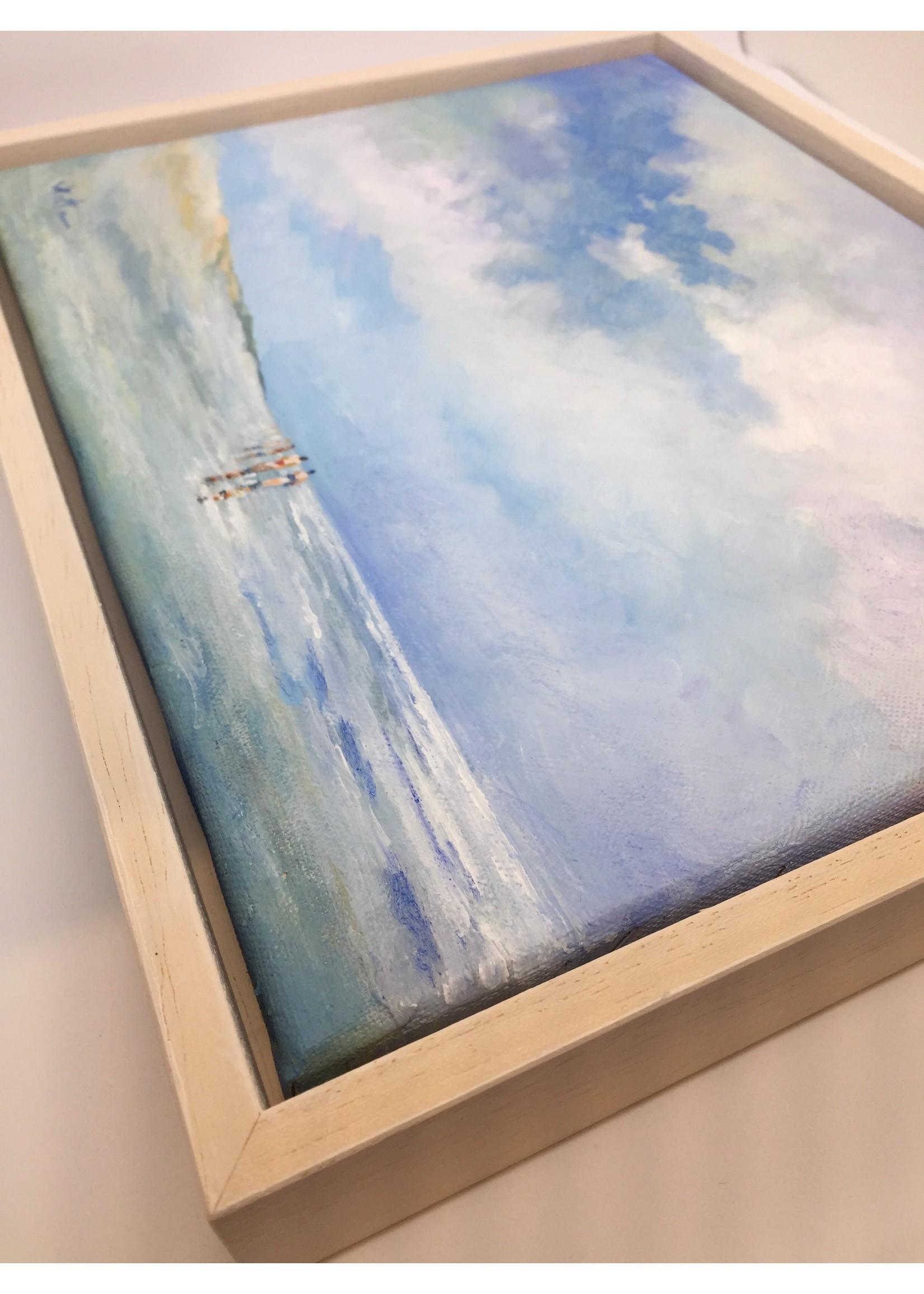 'Noordzee zomer' - Kees Vlietman (Acryl op doek)