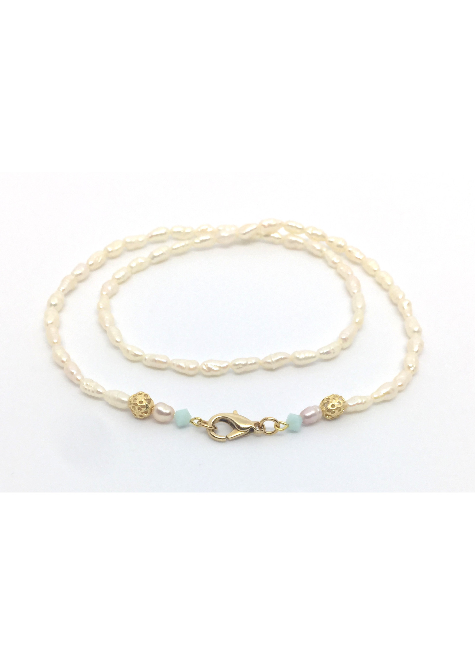 Els de Ruyter necklace 'Small pearls'