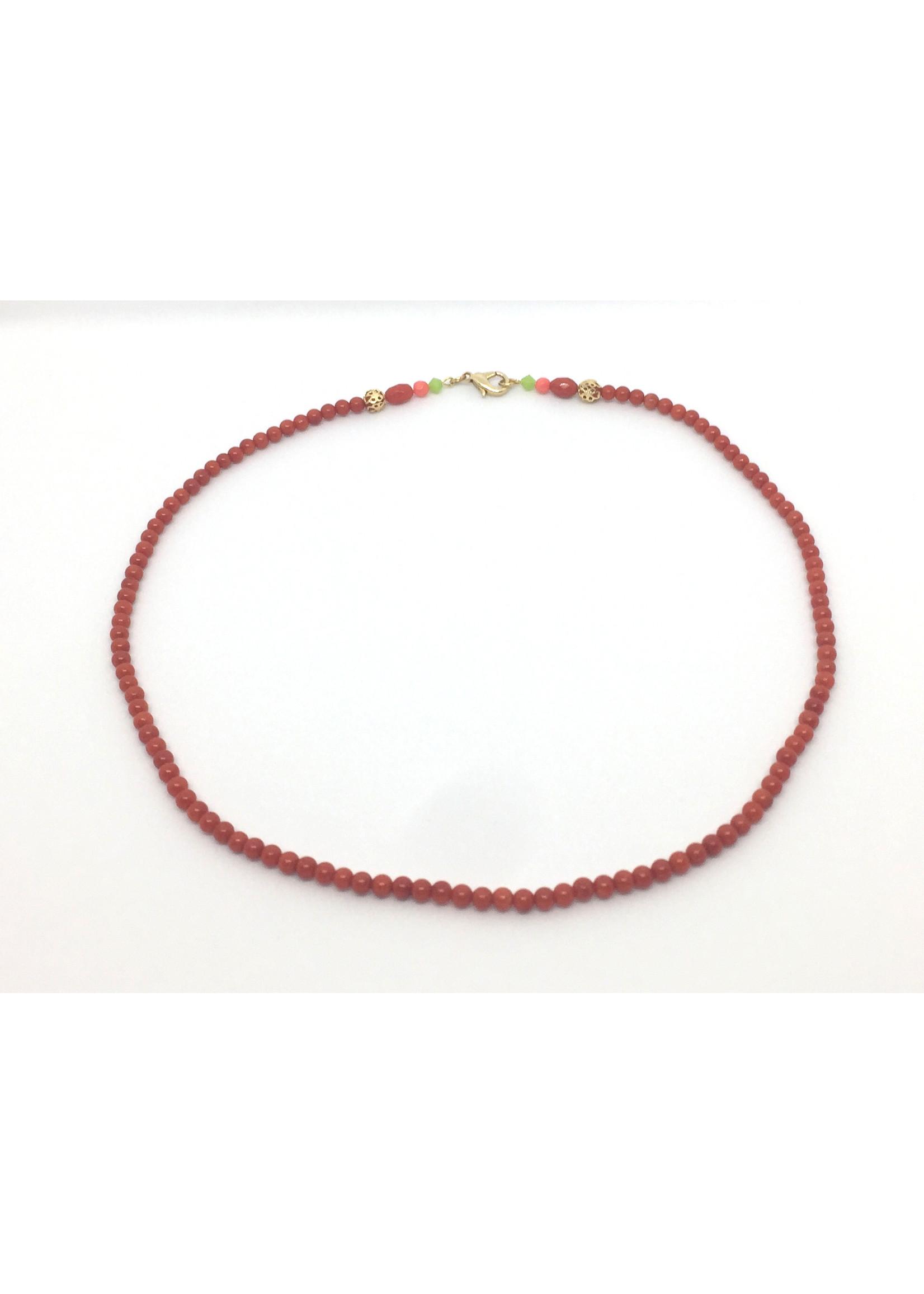 Halskette von Els de Ruyter 'Coral'