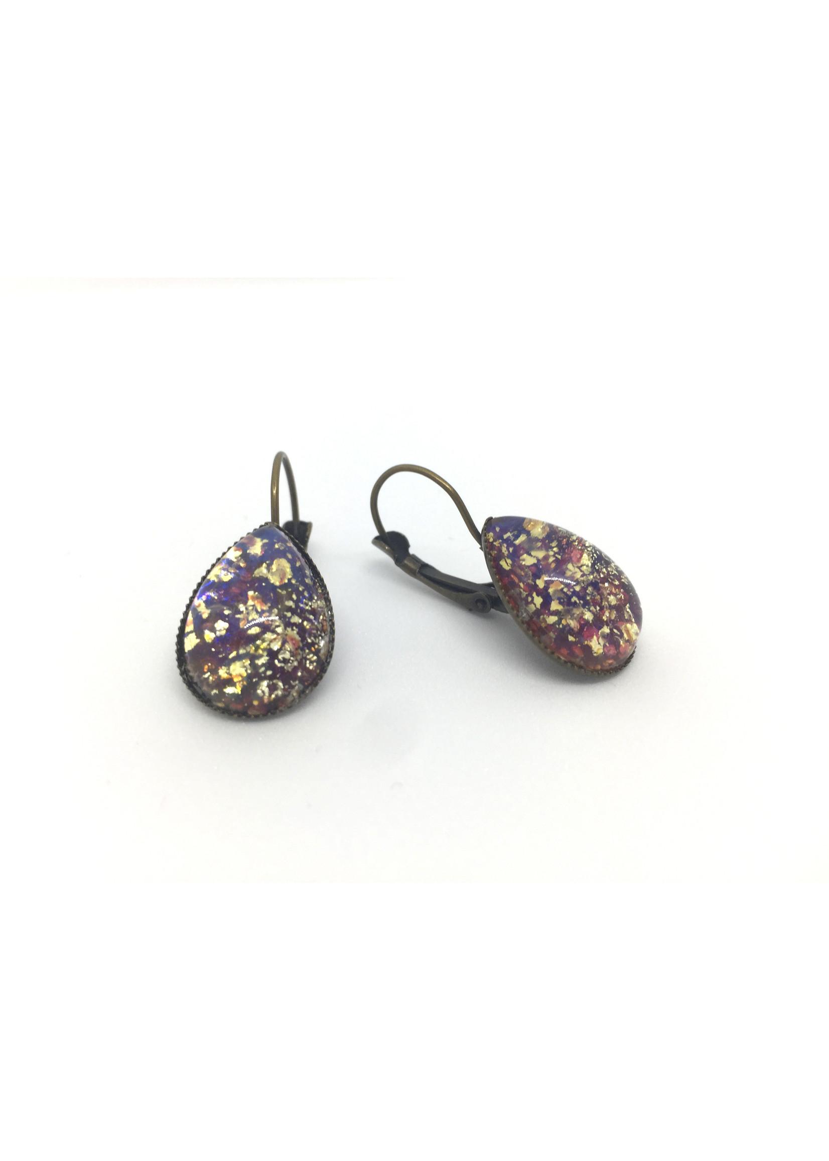 Els de Ruyter earrings with vintage stones