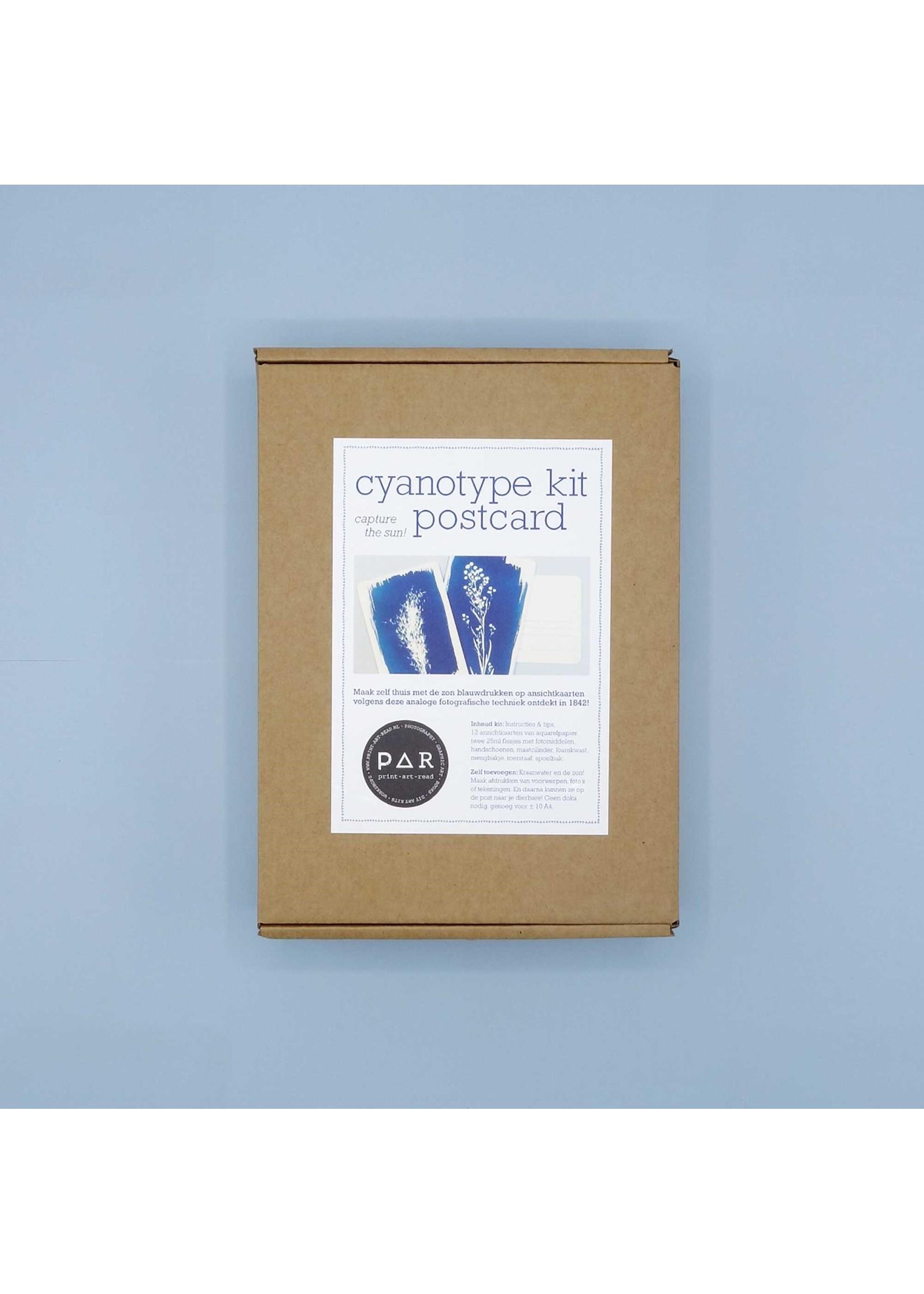 DIY kit make your own cyanotype print