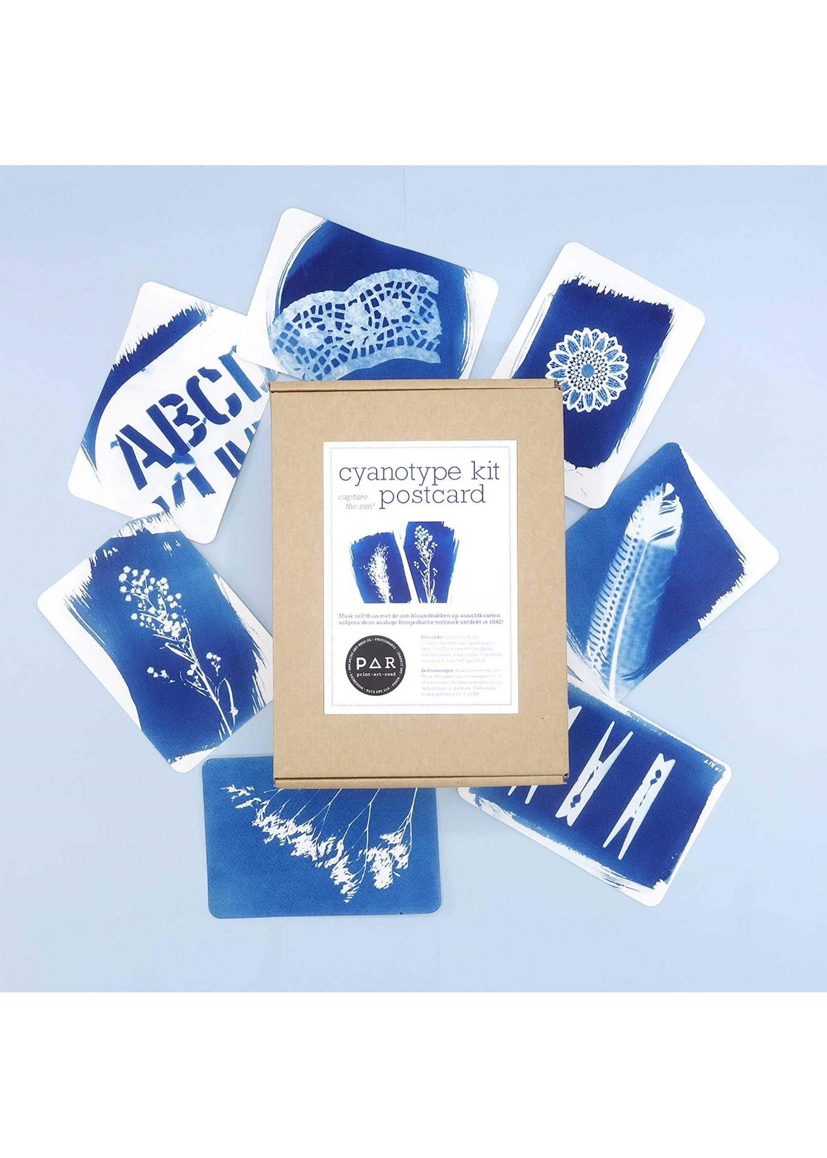 DIY kit blauwdruk print maken