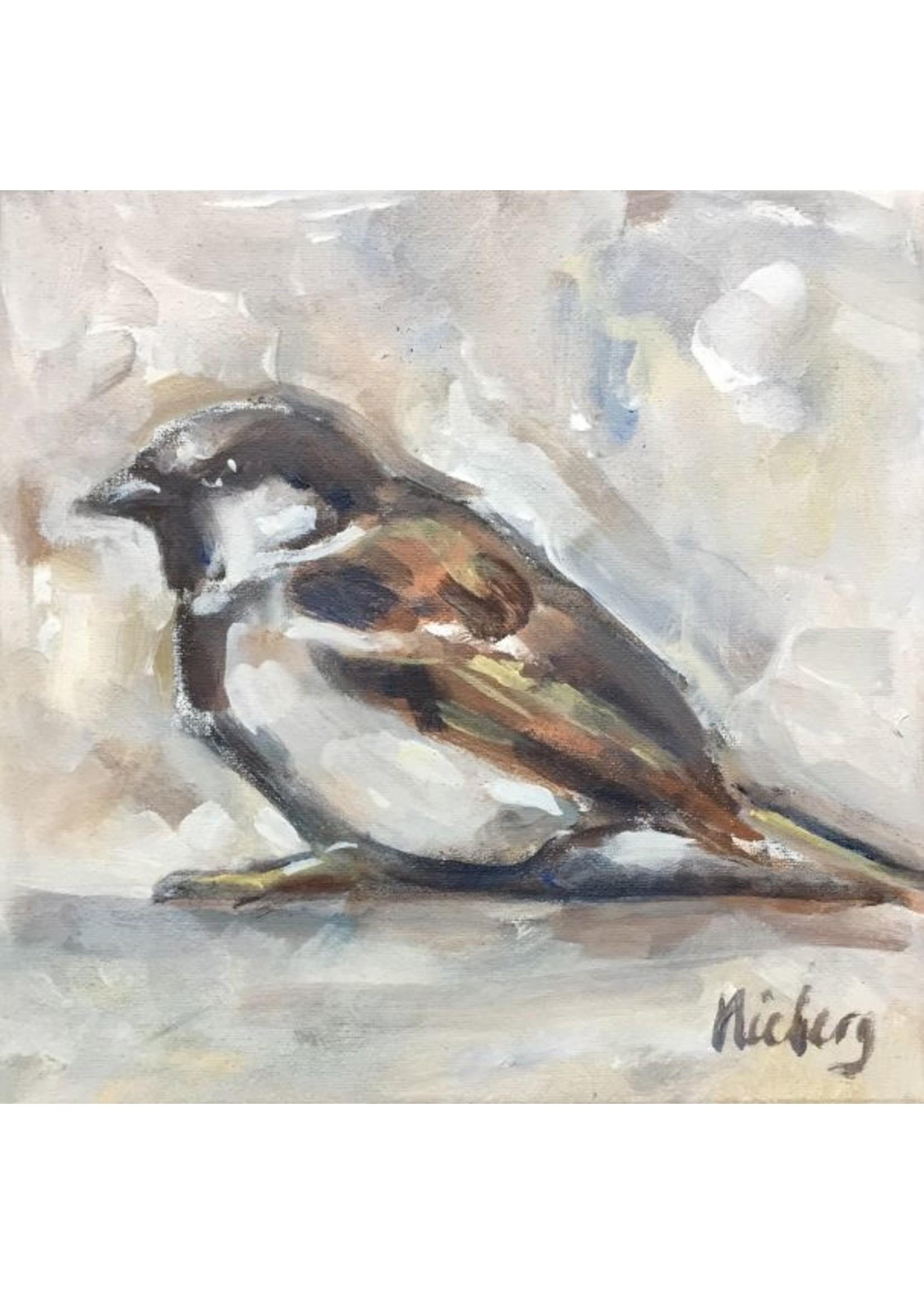 'Mus' - Monique Nieberg  (Acryl op doek)