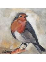 'Robin' - Monique Nieberg  (Acrylic on canvas)