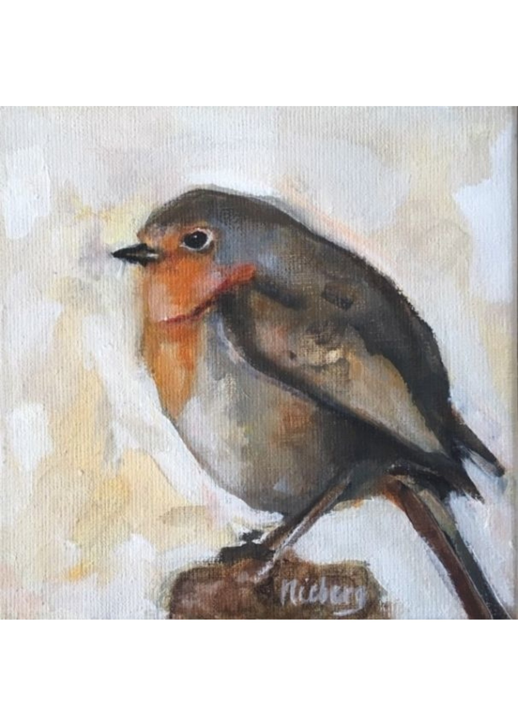 'Robin' - Monique Nieberg (Acryl auf Leinwand)