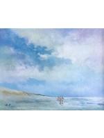 'North Sea summer' - Kees Vlietman (Acrylic on canvas)