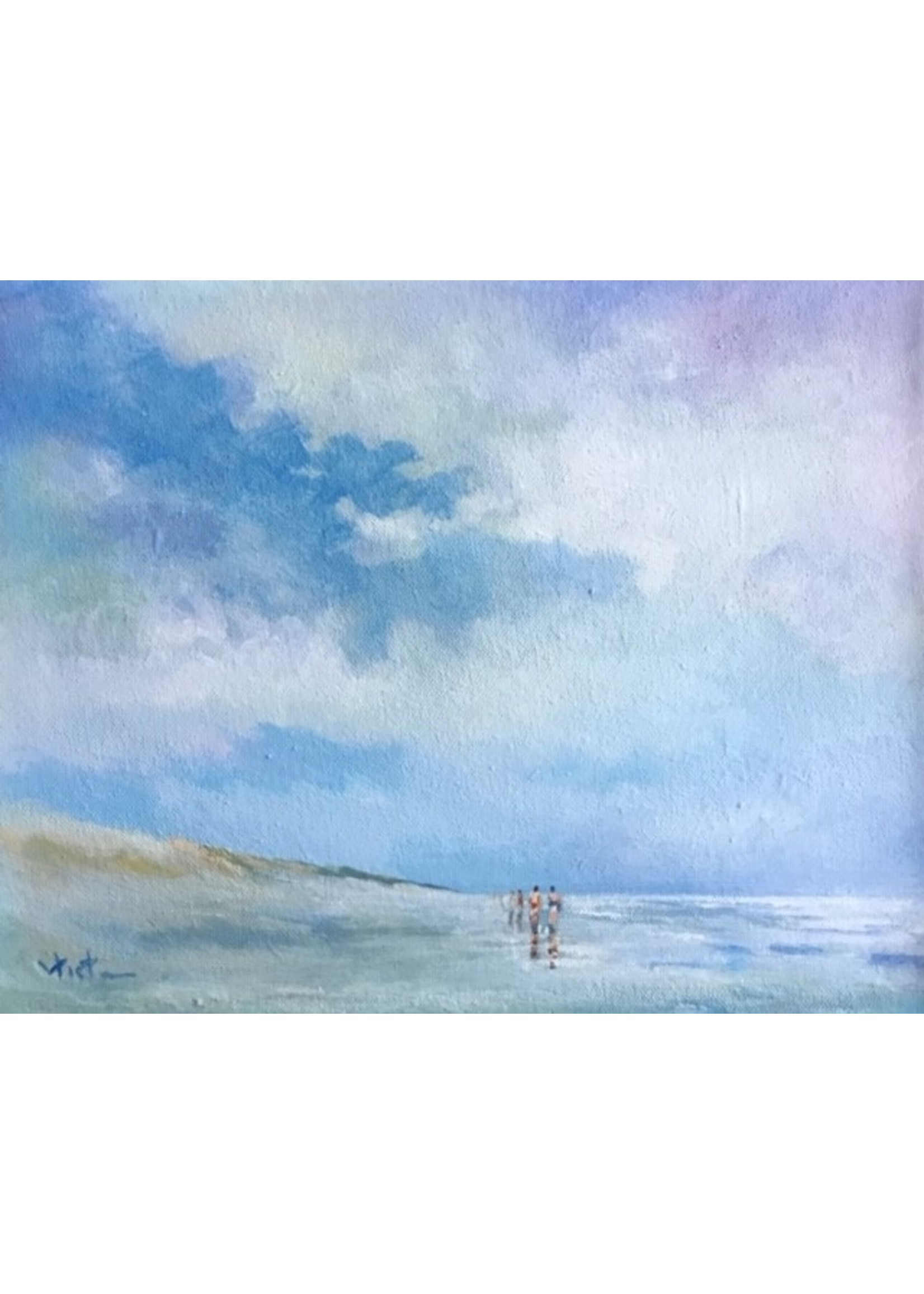 'Nordseesommer' - Kees Vlietman (Acryl auf Leinwand)