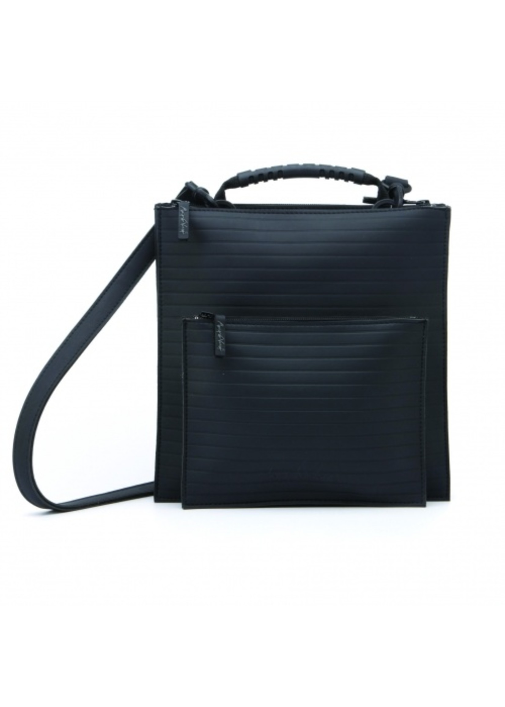Maria La Verda bag Artificial leather black