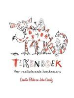 Tekenboek voor veelbelovende kunstenaars Quentin Blake en John Cassidy