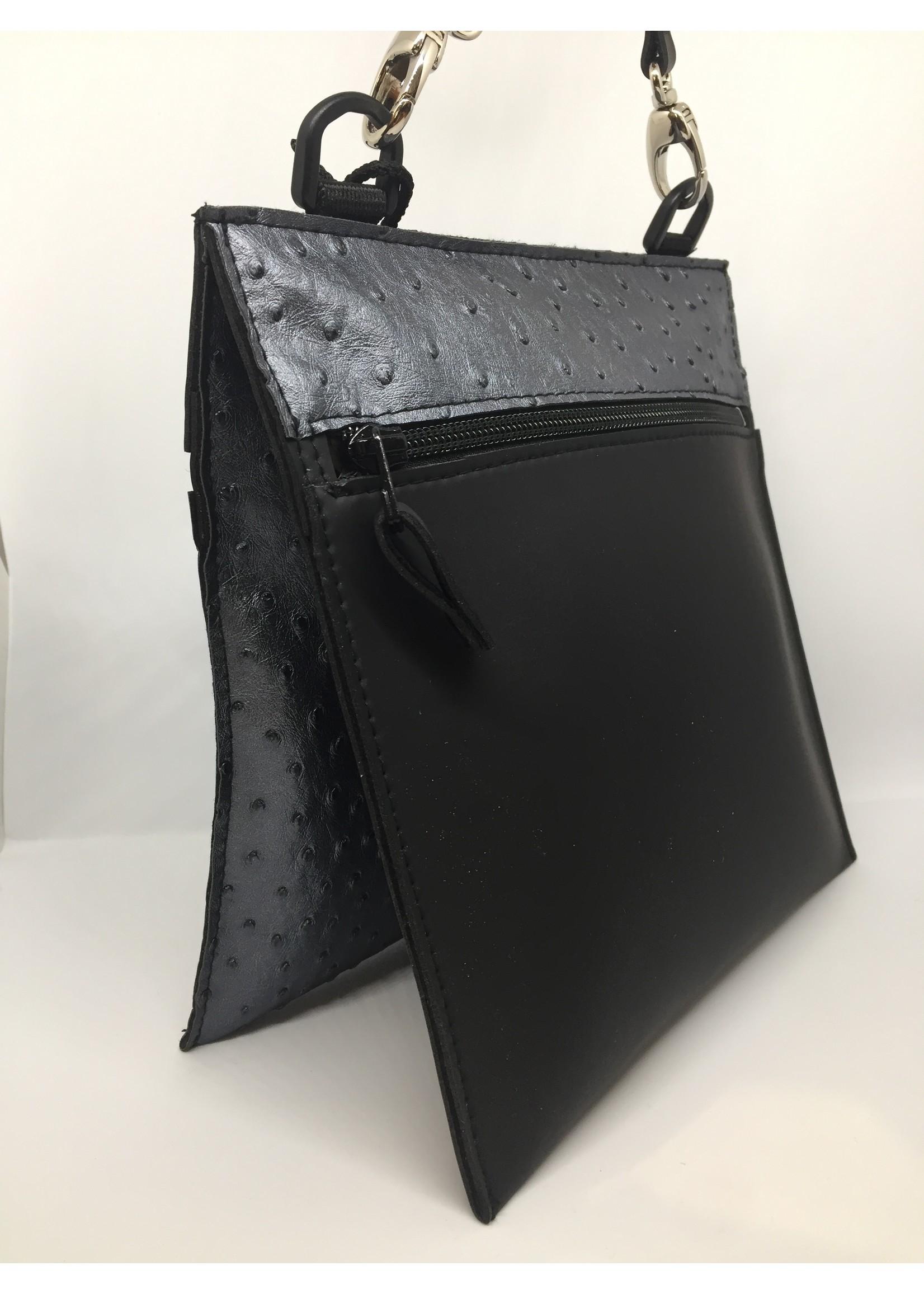 Maria La verda bag black / steel