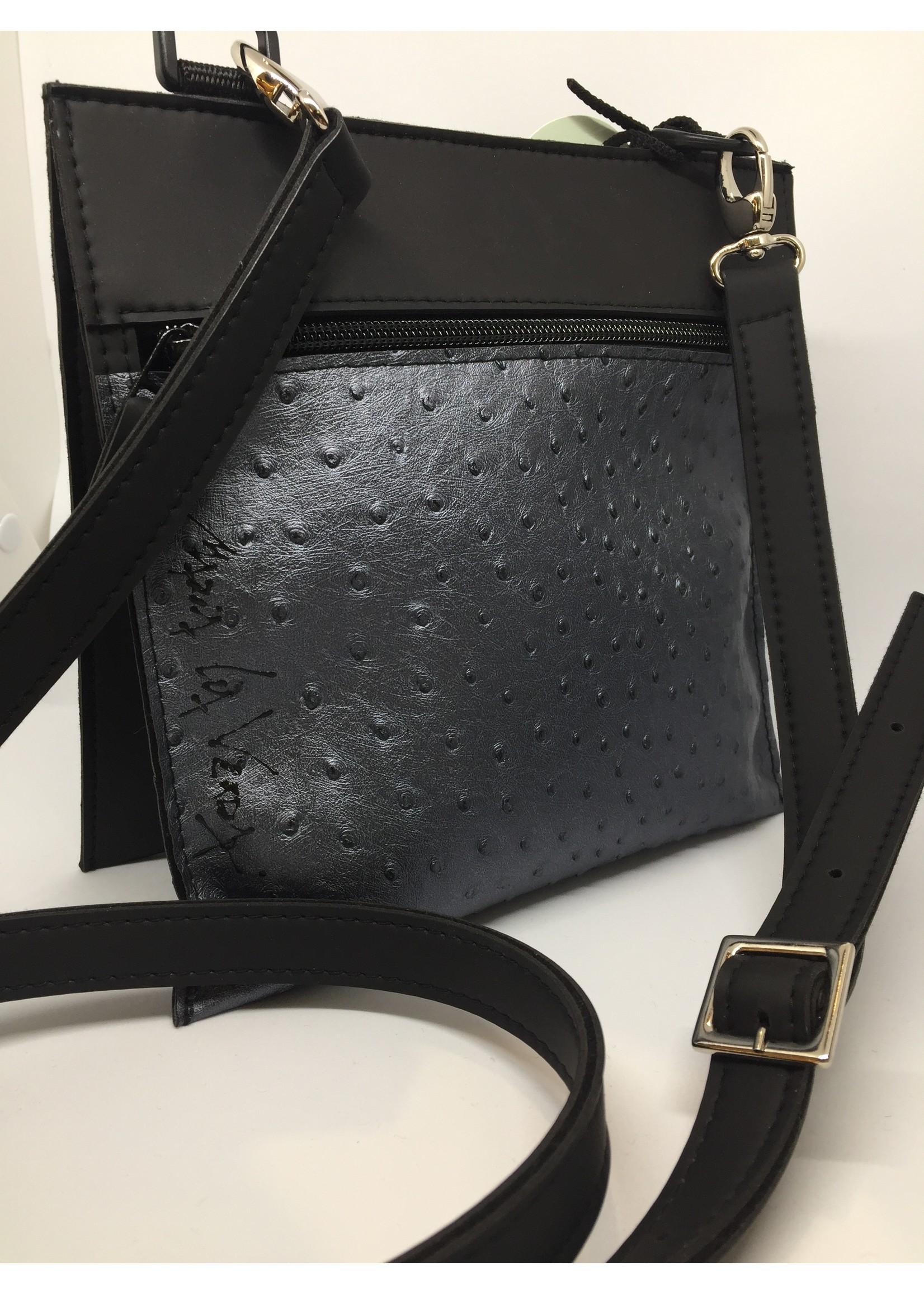 Maria La verda tas zwart / zilver 05000