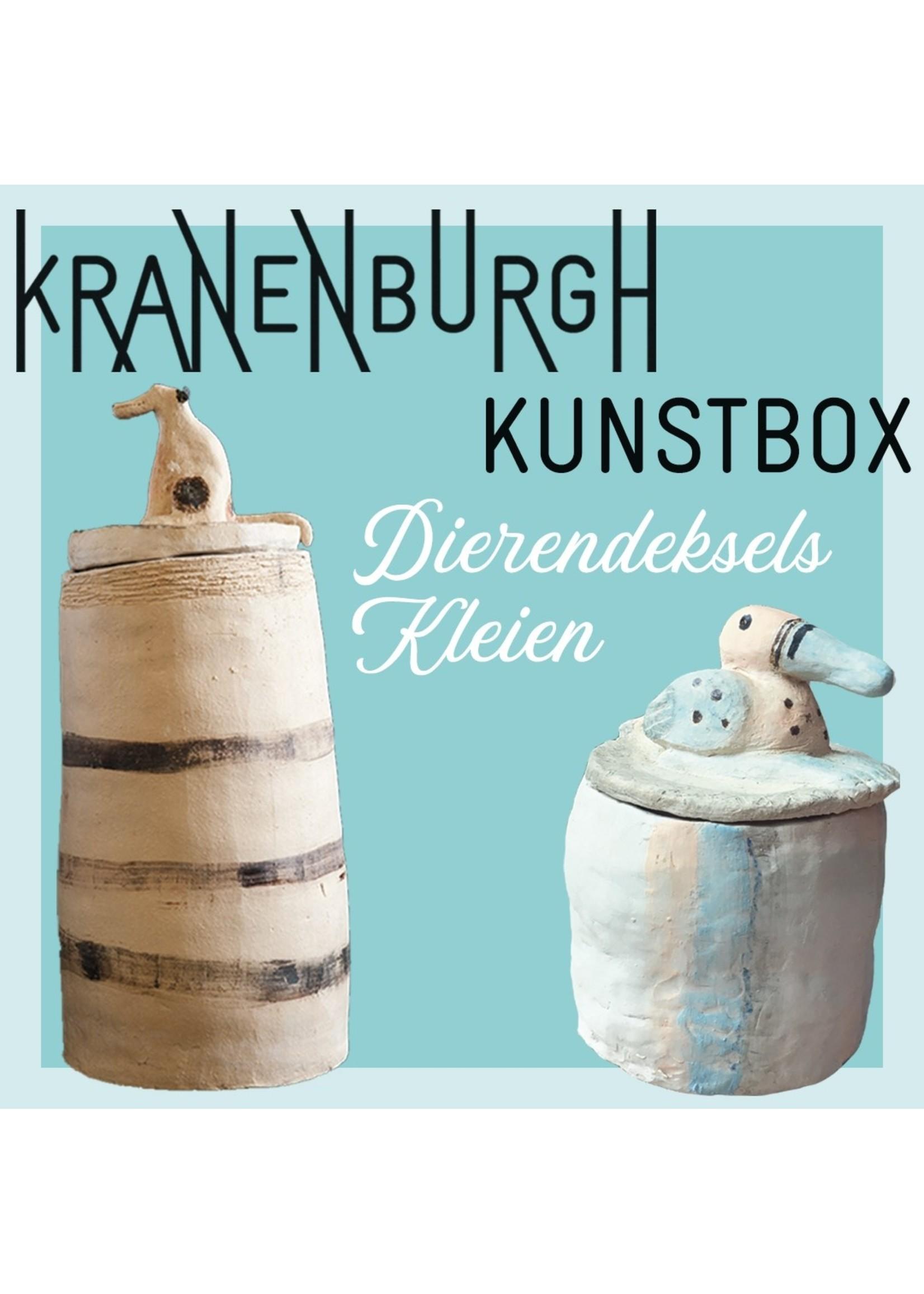 Kranenburgh Artbox: Kneten von Tierdeckeln