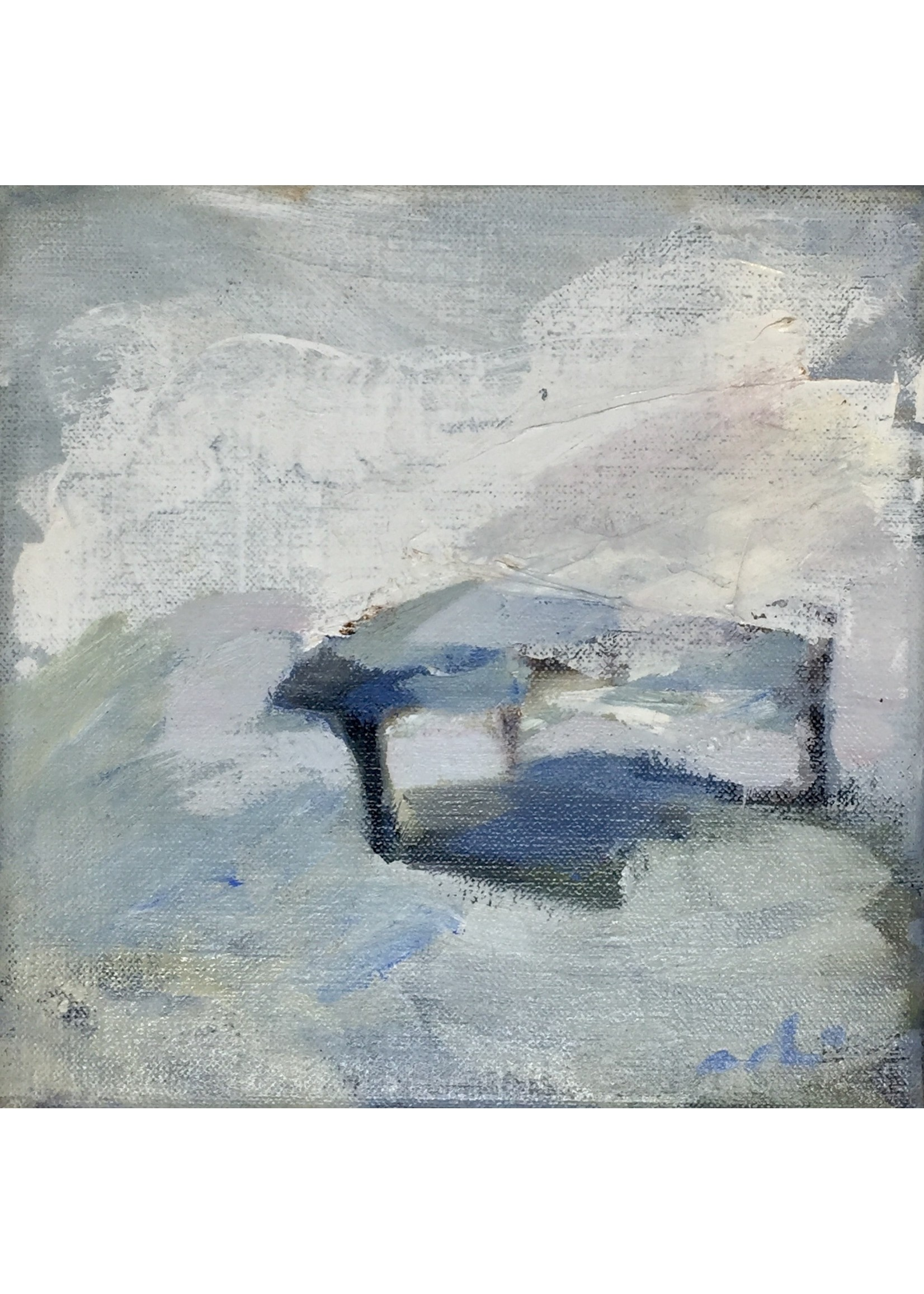 'Grand piano' - Adri Frigge (Oil on canvas)