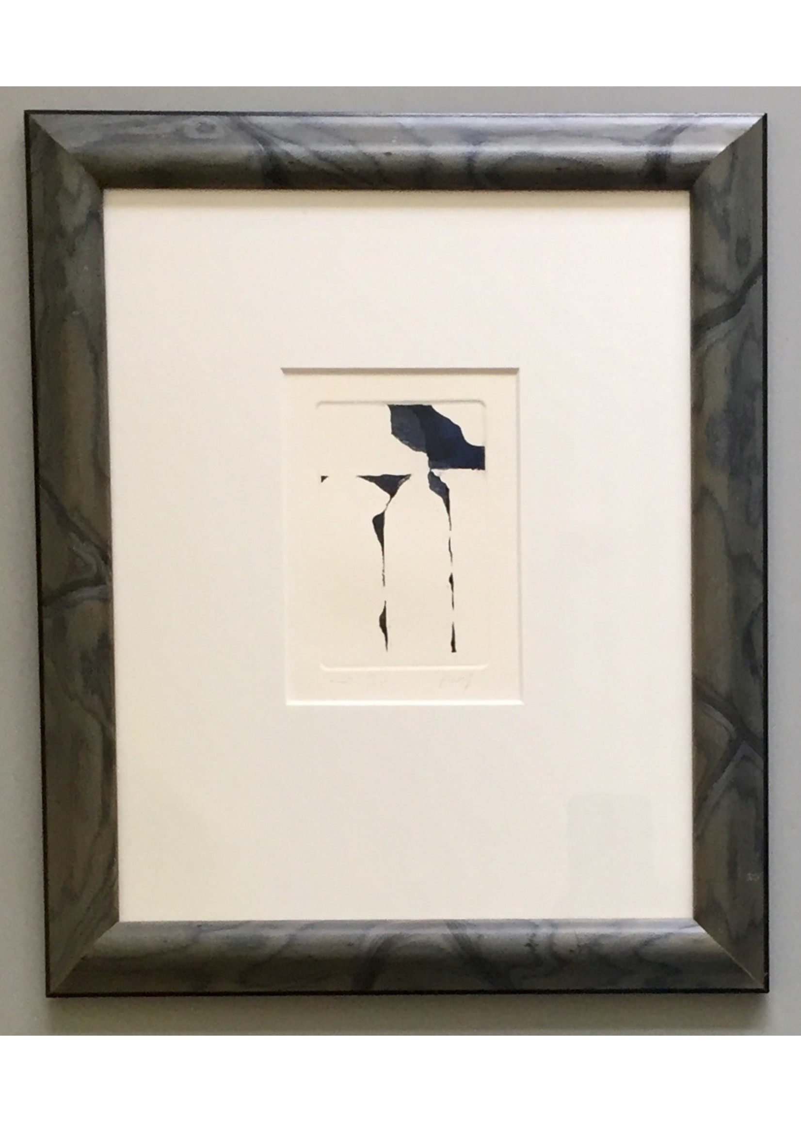 Egypt' - Adri Frigge (etching)