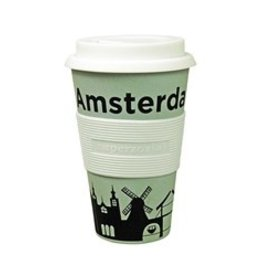 zuperzozial Bamboe 'To-Go' beker Zuperzozial Amsterdam