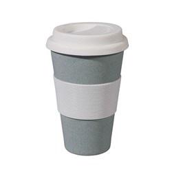 zuperzozial Bamboe Zuperzozial Cruising Travel Mug Reisbeker - 0.4 l - Powder Blue