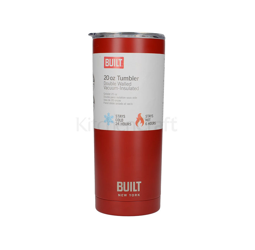 Built Built 20 oz Bottle - Red