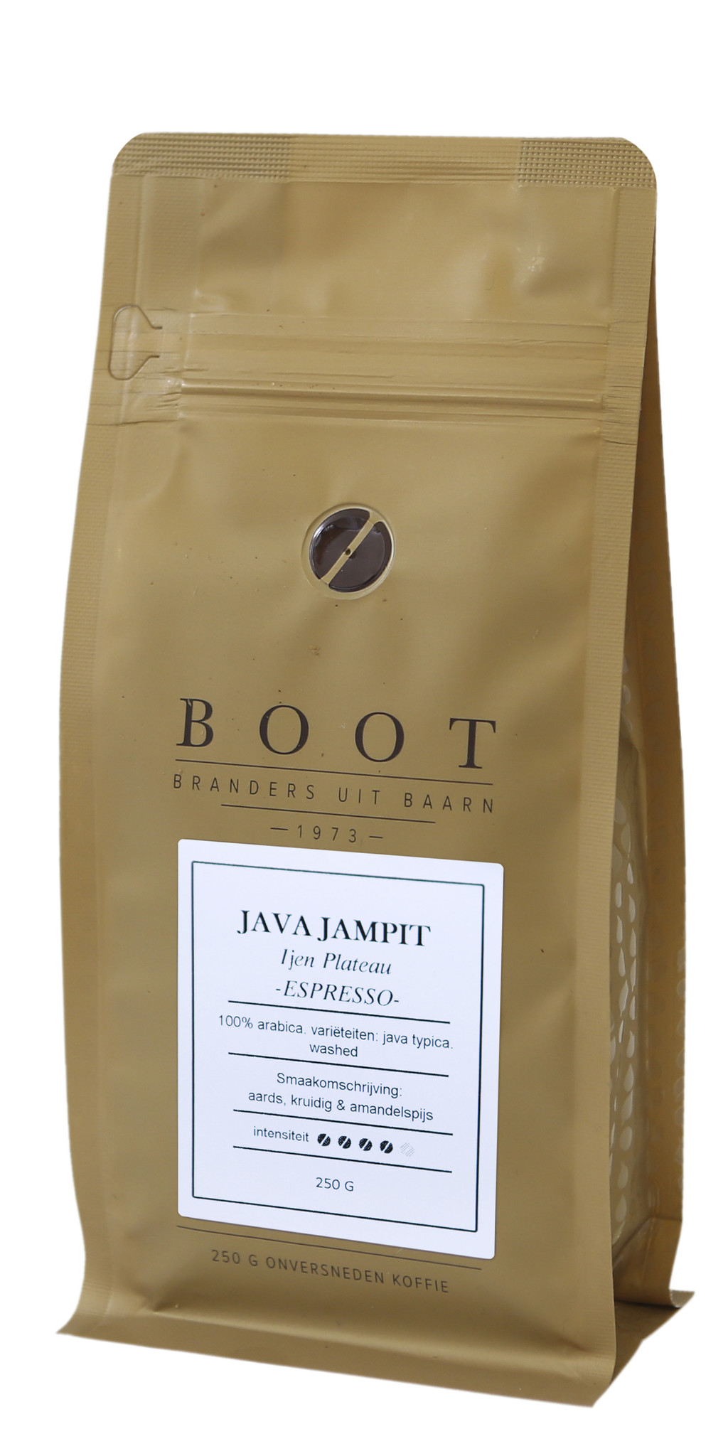 Boot koffie Java Jampit Espresso  - 1 kg