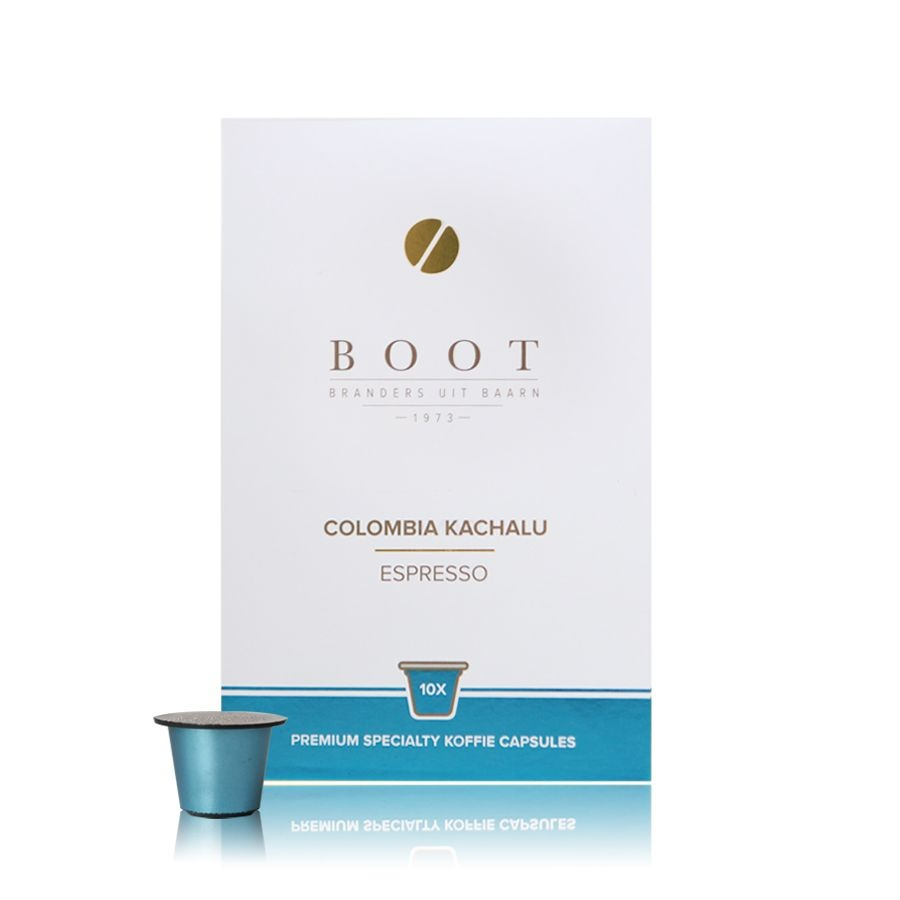 Boot koffie Colombia Kachalu Espresso Cups