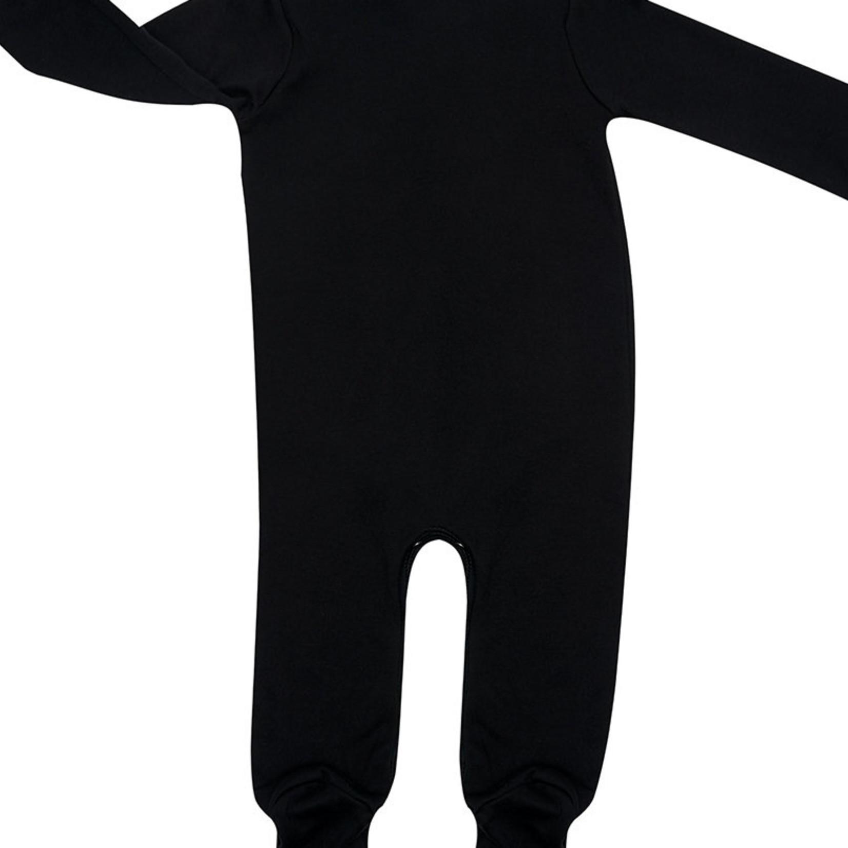 Peacheyboo Peacheyboo Pyjama / boxpakje 'Love milk' zwart