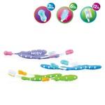 Nuby Nuby Set van 3 tandelsborstels 3M+
